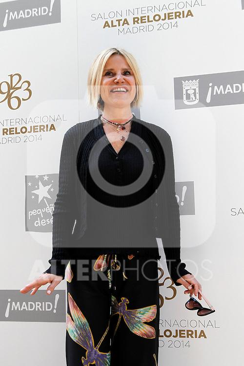 Inauguracion del I Salon Internacional Alta Relogeria de Madrid.Eugenia Martinez de Irujo.(ALTERPHOTOS/Acero)