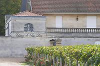 Chateau La Grace Dieu. Saint Emilion, Bordeaux, France