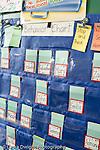 Education Elementary school Grade 2 behavior chart on wall still life