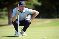 Tyler Hodge. Day three of the Brian Green Property Group NZ Super 6s Manawatu at Manawatu Golf Club in Palmerston North, New Zealand on Saturday, 27 February 2021. Photo: Dave Lintott / lintottphoto.co.nz