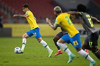 4th June 2021; Beira-Rio Stadium, Porto Alegre, Brazil; World Cup 2022 qualifiers; Brazil versus Ecuador; Lucas Paquetá of Brazil