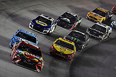 #18: Kyle Busch, Joe Gibbs Racing, Toyota Camry Skittles, #4: Kevin Harvick, Stewart-Haas Racing, Ford Mustang Busch Light, #22: Joey Logano, Team Penske, Ford Mustang Shell Pennzoil