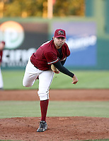 Sean Morgan / Yakima Bears pitching against the Boise Hawks - Boise, ID - 08/27/2008..Photo by:  Bill Mitchell/Four Seam Images