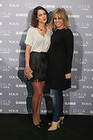 Ana Bono and Rosa Tous pose for the photographers during TOUS presentation in Madrid, Spain. January 21, 2015. (ALTERPHOTOS/Victor Blanco) /NortePhoto<br /> NortePhoto.com