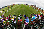 October 31, 2015 :  The field leaves the starting gate during the TwinSpires Breeders' Cup Turf Sprint (Grade I) in Lexington, Kentucky on October 31, 2015. Jon Durr/ESW/CSM