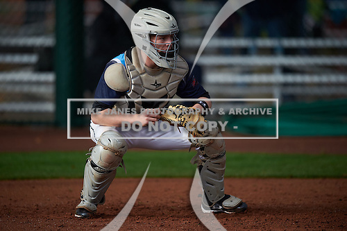 Craig Palidar (16) of WADSWORTH SENIOR High School in SEVILLE, Ohio during the Under Armour All-American Pre-Season Tournament presented by Baseball Factory on January 14, 2017 at Sloan Park in Mesa, Arizona.  (Mike Janes/Mike Janes Photography)