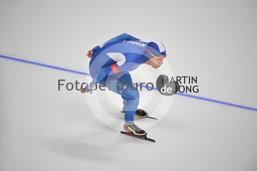 OLYMPIC GAMES: PYEONGCHANG: 15-02-2018, Gangneung Oval, Long Track, 10.000m Men, Seung-Hoon Lee (KOR), ©photo Martin de Jong