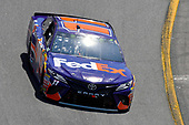 Monster Energy NASCAR Cup Series<br /> Toyota Owners 400<br /> Richmond International Raceway, Richmond, VA USA<br /> Sunday 30 April 2017<br /> Denny Hamlin, Joe Gibbs Racing, FedEx Ground Toyota Camry<br /> World Copyright: Nigel Kinrade<br /> LAT Images<br /> ref: Digital Image 17RIC1nk11519