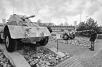- Switzerland, the tank museum in Thun (Bern), World War II tanks: British Staghound armoured car<br /> <br /> - Svizzera, il museo dei carri armati di Thun (Berna) , carri armati della Seconda Guerra Mondiale, autoblindo inglese T17 Staghound