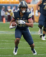 Pitt wide receiver Rafael Araujo-Lopes. The Pitt Panthers defeated the Virginia Cavaliers 31-14 at Heinz Field, Pittsburgh, PA on October 28, 2017.