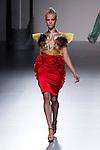 03.09.2012. Models walk the runway in the Leyre Valiente fashion show during the EGO Mercedes-Benz Fashion Week Madrid Spring/Summer 2013 at Ifema. (Alterphotos/Marta Gonzalez)