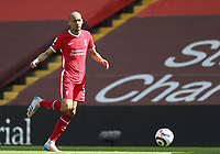 24th April 2021; Anfield, Liverpool, Merseyside, England; English Premier League Football, Liverpool versus Newcastle United; Fabinho of Liverpool runs with the ball