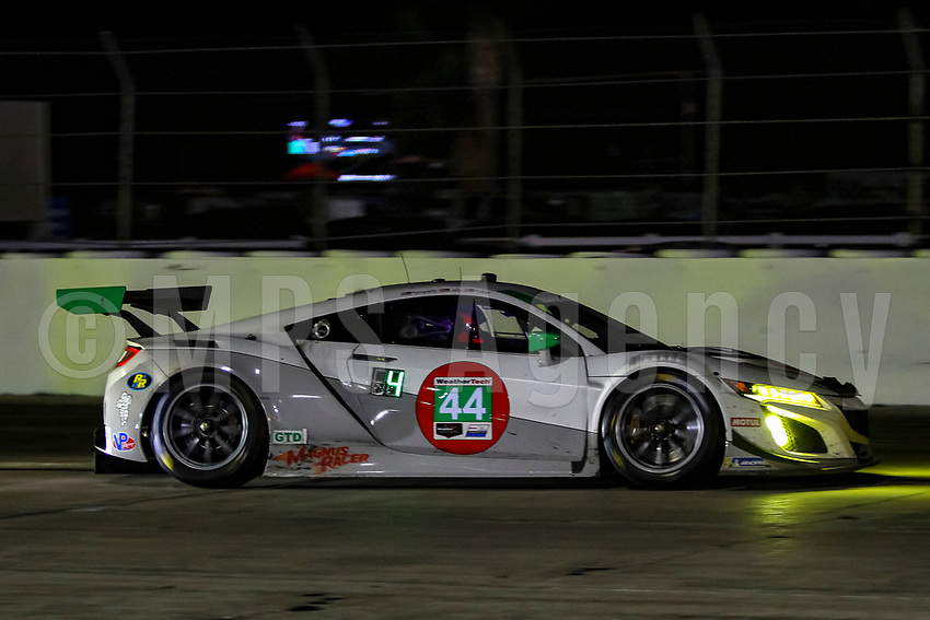 #44 MAGNUS WITH ARCHANGEL(USA) ACURA NSX GT3 GTD - JOHN POTTER (USA) ANDY LALLY (USA) SPENCER PUMPELLY (USA)