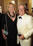 Carol and Mike Linn at the Alley Ball held at the Air Terminial Museum at Hobby Airport Saturday May 15,2010.  (Dave Rossman Photo)