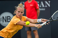 Den Bosch, Netherlands, 13 June, 2017, Tennis, Ricoh Open, Richel Hogenkamp (NED)<br /> Photo: Henk Koster/tennisimages.com