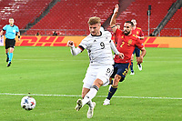 3rd September 2020; Stuttgart, Germany; UEFA Nations League football, Germany versus Spain;  Timo WERNER GER, takes a shot as he gets away from Daniel CARVAJAL ESP.