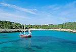 Spain, Mallorca, Cala Mondrago: Bay in the South-East | Spanien, Mallorca, Cala Mondrago: Bucht im Suedosten der Insel
