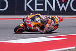 Marc Marquez (93) in action during the Red Bull Grand Prix of the Americas race at the Circuit of the Americas racetrack in Austin,Texas.