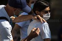 15.06.2020 - Flash Mob Precarie Roma Capitale - Precarious Teachers Demo Outside Rome's City Hall