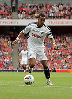 Pictured: Scott Sinclair of Swansea. Saturday 10 September 2011<br /> Re: Premiership Arsenal v Swansea City FC at the Emirates Stadium, London.