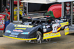Jul 4, 2009; 5:04:49 PM; Bulls Gap, TN., USA; The Lucas Oil Late Model Dirt Series running a 10,000 to win race at Volunteer Speedway.  Mandatory Credit: (thesportswire.net)