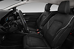 Front seat view of a 2017 Ford Fiesta Titanium 3 Door Hatchback front seat car photos
