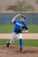 William (Billy) Biers (1) of Highland High School in Palmdale, California during the Under Armour All-American Pre-Season Tournament presented by Baseball Factory on January 14, 2017 at Sloan Park in Mesa, Arizona.  (Kevin C. Cox/MJP/Four Seam Images)