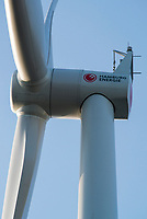 GERMANY Hamburg, wind turbine Siemens SWT-3.0-113 of Municipal energy supplier Hamburg Energie at Trimet company area