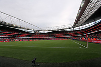 Pictured: A general view of the Emirates Stadium. Saturday 10 September 2011<br />