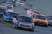 #16: Austin Hill, Hattori Racing Enterprises, Toyota Tundra TRD / United Rentals, #38: Todd Gilliland, Front Row Motorsports, Ford F-150 Speedco, #26: Tyler Ankrum, GMS Racing, Chevrolet Silverado LiUNA!