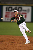 February 27, 2010:  Second Baseman Luis Llerena of the South Florida Bulls during the Big East/Big 10 Challenge at Bright House Field in Clearwater, FL.  Photo By Mike Janes/Four Seam Images