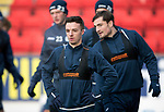 St Johnstone Training…12.12.17<br />Stefan Scougall pictured during training this morning at McDiarmid Park ahead of tomorrow's game against Aberdeen<br />Picture by Graeme Hart.<br />Copyright Perthshire Picture Agency<br />Tel: 01738 623350  Mobile: 07990 594431