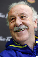 Coach Vicente del Bosque during comercial event during Spanish national football team stage. March 22,2016. (ALTERPHOTOS/Acero)
