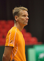 09-09-13,Netherlands, Groningen,  Martini Plaza, Tennis, DavisCup Netherlands-Austria, DavisCup,   Captain Jan Siemerink (NED)<br /> Photo: Henk Koster