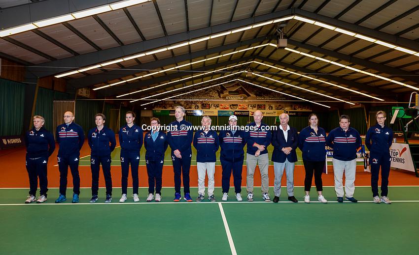 Wateringen, The Netherlands, December 1,  2019, De Rhijenhof , NOJK 12 and16 years, umpires and linespersons<br /> Photo: www.tennisimages.com/Henk Koster