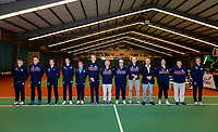 Wateringen, The Netherlands, December 1,  2019, De Rhijenhof , NOJK 12 and16 years, umpires and linespersons<br /> Photo: www.tennisimages.com/Henk Koster