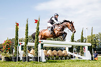 SWE-Malin Petersen rides Charly Brown 311 during the Cross Country. 2021 SUI-FEI European Eventing Championships - Avenches. Switzerland. Saturday 25 September 2021. Copyright Photo: Libby Law Photography