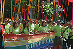 KAISER PERMANENTE EMPLOYEES MARCH IN GAY PRIDE PARADE