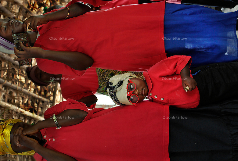Bantus create all of the social structure and have all the sedentary trappings... Churches, Clinics, Stores, Rituals and ceremonies.