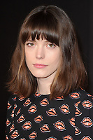 """Stacy Martin<br /> arriving for the premiere of """"The Sense of an Ending"""" at the Picturehouse Central, London.<br /> <br /> <br /> ©Ash Knotek  D3244  06/04/2017"""