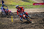 Hamish Harwood competes in the Grand Prix MX1 race one. 2021 New Zealand Motocross Grand Prix at Old Gorge Road in Woodville , New Zealand on Sunday, 31  January 2021. Photo: Dave Lintott / lintottphoto.co.nz