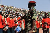 BURKINA FASO, Ouagadougou, reception of the national football team of Burkina Faso as 2nd winner of the Africa Cup 2013 in National Stadium / BURKINA FASO, Empfang der Fussballmannschaft nach dem Afrika Cup 2013, das Team von Burkina Faso hat dort den zweiten Platz belegt
