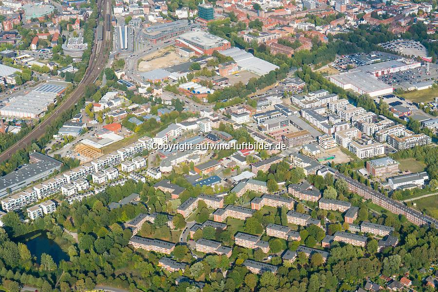 Wohnungsbau in Bergedorf: EUROPA, DEUTSCHLAND, HAMBURG 19.09.2018:Wohnungsbau in Bergedorf