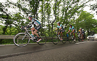 OmegaPharma-QuickStep run  up to 3 minutes ahead on the peloton<br /> <br /> Belgian Championchips 2013