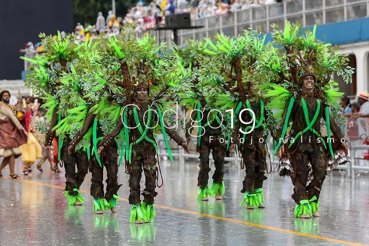 SAO PAULO, SP, 21/02/2020 - Carnaval 2020 -SP- Carnaval 2020, Desfile da Escola de Samba X-9 Paulistana pelo grupo especial, no Sambodromo do Anhembi em Sao Paulo, SP, nesta sabado (22). (Foto: Marivaldo Oliveira/Codigo 19/Codigo 19)