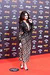 Actress Paz Vega attends the red carpet previous to Goya Awards 2021 Gala in Malaga . March 06, 2021. (Alterphotos/Francis González)