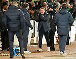 St Johnstone v Celtic...18.12.11   SPL .Neil Lennon celebrates Hooper's goal.Picture by Graeme Hart..Copyright Perthshire Picture Agency.Tel: 01738 623350  Mobile: 07990 594431
