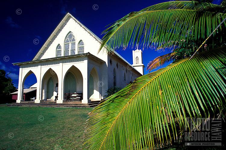 Exterior of St. Francis Catholic Church, Kalaupapa settlement