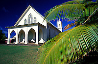Exterior of St. Francis Catholic Church, Kalaupapa settlement