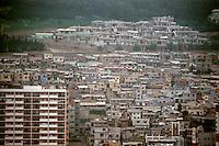 So. Korea: Pusan--High rises and houses. Photo '81.